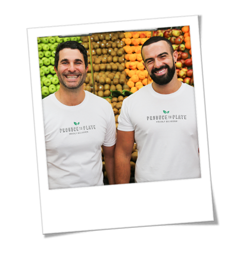 Joe & Peter from Produce to Plate